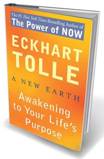 The New Earth – Eckhart Tolle shows there is a way out of suffering – a book that helped my husband come out of depression